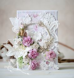Hello dear friends, Evgenia Petzer  with you today. I have prepared two flower cards for you. Both of them are in pastel, dreamy colors wit...