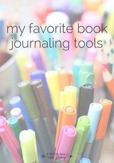 My favorite book journaling tools: journals, pens, pencils, and more! Journal Layout, Book Journal, Commonplace Book, Journal Aesthetic, Creative Journal, Journal Inspiration, Workspace Inspiration, Journal Ideas