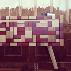 Sideboard wood, Amsterdam Woonbeurs 2014