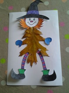 Classe TAP Maternelle Jacques Prévert - TouteMonAnnee.com Plus Diy Halloween, Image Halloween, Theme Halloween, Bricolage Halloween, Holidays Halloween, Happy Halloween, Halloween Decorations, Art Lessons For Kids, Art For Kids