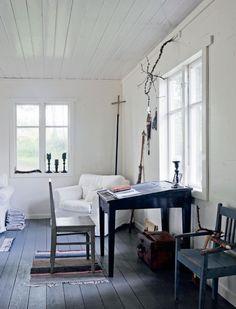 Interieur inspiratie uit Zweden - Swedish interior Voor meer wooninspiratie kijk ook eens op http://www.wonenonline.nl/