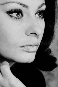 """Sophia Loren in """"Operation Crossbow"""", 1965. Source:msmildred via Mudwerks"""