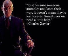 I just love this quote! It's my favorite quote from X-Men: Days of Future Past. I decided to look at this from a biblical viewpoint and it blew my mind while I sat watching it in the theater.