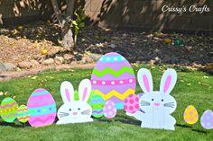 Saca a los conejos de Pascua de sus madrigueras