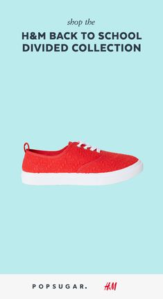 8b47c0eeb023 Be bold with a pop of red on your feet.  HM  ad Be