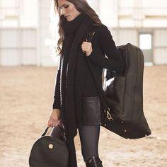 Setting the bar for for luxury equestrian fashions.  #asmarequestrian #fw16 #italianleather #handbags #helmetbag #bootbag #equestrianstyle #rootd #fallstyle #equestrian #lifestyle #fashion