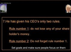 The world's 2nd richest man has some simple advice