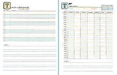 Loads of DIY Planner templates by me, Amanda Hawkins - http://ahhh-design.com