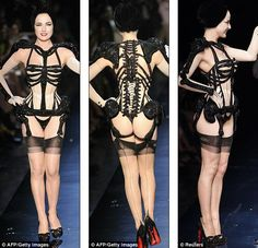 The most amazing thing ever, Jean Paul Gaultier with Dita Von Teese