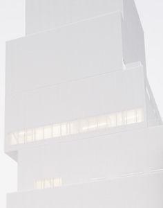 sejima/new museum, nyc Pure White, White Light, New Museum Nyc, Ryue Nishizawa, White Building, Museum Of Contemporary Art, Modern Contemporary, Facade Architecture, Minimalist Architecture