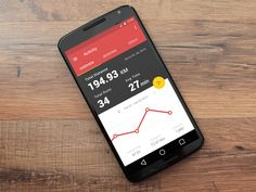 A running & Tracking app concept following Google's Material Design guidelines.