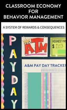 A classroom economy helps manage students by setting up rewards & consequences and provides teachers opportunities to positively narrate students.   maneuveringthemiddle.com via @maneveringthem