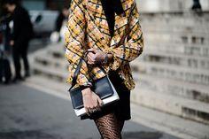 Street style Paris Fashion Week otono invierno 2014   Galería de fotos 37 de 214   Vogue México