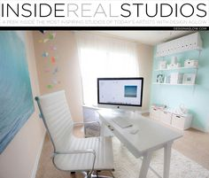 Today we're taking a peek inside the beautiful studio of Rya Duncklee of ryaphotos. In what kind of space is your studio located, and where? Residential, in Jac Newborn Photography Studio, Photography Camera, Studio Setup, Studio Ideas, Video Studio, Do It Yourself Home, Home Automation, Furniture Inspiration, Professional Photographer