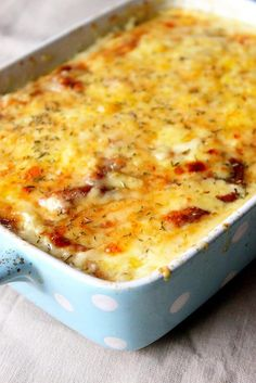 Gratin Dauphinois- potatoes cooked with cream and cheese