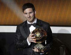 Lionel Messi | FIFA Ballon D´OR 2012. [07.01.13]