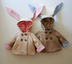 Little Rabbit Coat in Blue by littlegoodall on Etsy, $149.00