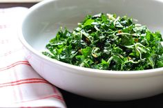 lacinato kale salad - this one is so good! A great recipe to start with when trying kale or if you're trying to get someone to like it.