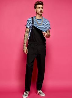 Organic cotton must-have overalls - the vault - Overalls Outfit, Dungarees, Stylish Mens Outfits, Stylish Clothes, Herren Outfit, Fashion Pants, Mens Overalls Fashion, Men Fashion, Facon