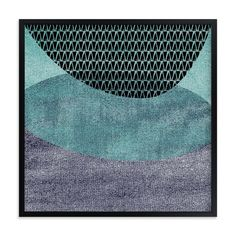 """""""Vista 2 - Seaside"""" - Art Print by Olivia Raufman in beautiful frame options and a variety of sizes."""