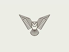 Image result for geometric owl