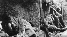 New Zealand soldiers resting at Gallipoli