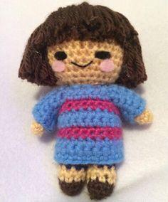 Amigurumi Crochet Frisk from Undertale
