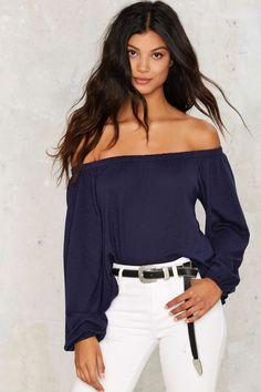 Monica Off-the-Shoulder Top | Shop Clothes at Nasty Gal!