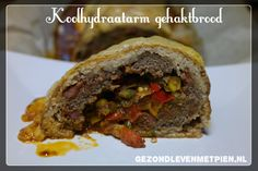 Ideaal voor een buitenlunch of diner is dit recept voor een koolhydraatarm gehaktbrood of meatloaf. Voor kinderen is de groente verstopt in het gehakt ;).