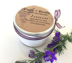 Organic Deodorant by PureRest on Etsy