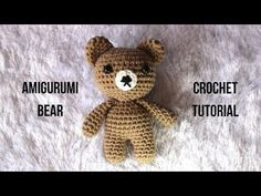 (32) AMIGURUMI RABBIT CROCHET TUTORIAL - YouTube