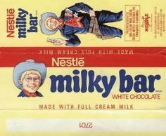 Nestle milky bar - complete with The Milky Bar Kid