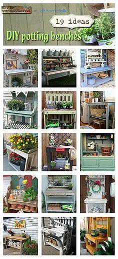 good potting benches