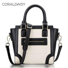 Coraldaisy 2014 Spring Women Leather Handbags Women Messenger Bags Fashion Smiling Face Handbag Mini Shoulder Bag