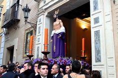 El Rincón Cofrade: Sevilla. Vía Crucis con la imagen de Jesús Despoja...