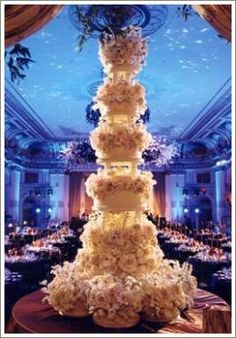 Sylvia Weinstock Wedding Cake.