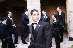Groom Style. maybe a tie instead of a bow
