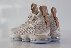 The Nike LeBron 15 Ghost is featured in new images and it's dropping in October.