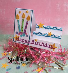Happy Birthday Step Card by Teresa Horner