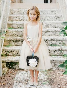 darling flower girl!