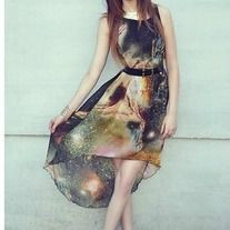 Galaxy high low. How adorable!