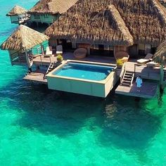 St Regis Bora Bora Photo by @misscindrich...