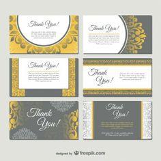Cartão de visita do estilo do damasco