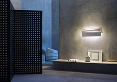Innerlight was conceived as a wall sculpture, which once lit comes to life and transforms into an elegant platform for the light.