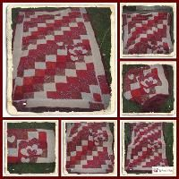 Quilting : Patchworkdecke zum Geburtstag Picnic Blanket, Outdoor Blanket, Jellyroll Quilts, Gingham, Quilt Patterns, Sewing, Crochet, Passion, Home Decor