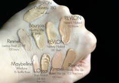 Ranking podkładów TOP 7 czyli najlepsze podkłady drogeryjne z Rossmann oraz SPOSÓB na suche skórki na twarzy :) - StellaLily Beauty Blog