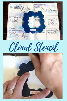 Add a gorgeous cloud design to your bullet journal layouts using this Cloud Stencil. You deserve to have a pretty bujo - even if you're not artsy. #bulletjournal #moxiedori Bullet Journal Stencils, Bullet Journal Hacks, Bullet Journal Spread, Bullet Journal Layout, Bullet Journal Inspiration, Journal Ideas, Time Management Techniques, December Bullet Journal, Cloud Stencil