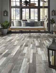 Mannington - Adura Max Apex - Chart House - Deck - Waterproof Multilayer Flooring - Save at American Carpet Wholesale - Mannington Vinyl Flooring, House, Waterproof Flooring, Home, Wood Vinyl, Chart House, Luxury Vinyl Plank, House Deck, Flooring Options