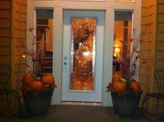 cozy autumn | Cozy Autumn Entrance - Holiday Designs - Decorating Ideas - HGTV ...