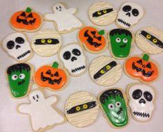 •Fun Halloween Sugar Cookies•